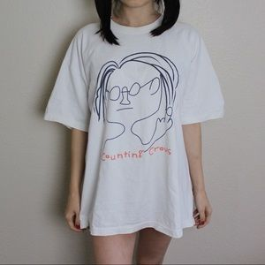 Tops - Counting crows shirt